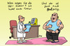 Cartoon: Der Tumor (small) by rene tagged tumor,krankheit,arzt,diagnose