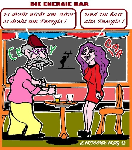 Cartoon: Alt und Energie (medium) by cartoonharry tagged alter,alt,energie