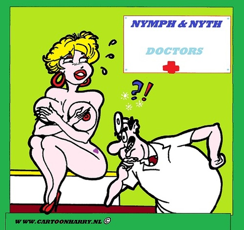Cartoon: Doctor (medium) by cartoonharry tagged erotic,bedtalks,cartoon,humor,sexy,cartoonist,cartoonharry,dutch,nude,girl,toonpool