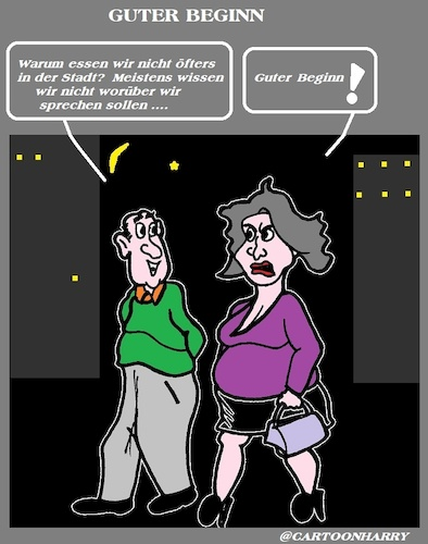 Cartoon: Guter Beginn (medium) by cartoonharry tagged beginn,cartoonharry