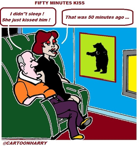 Cartoon: Sleepy (medium) by cartoonharry tagged sleepy,tv
