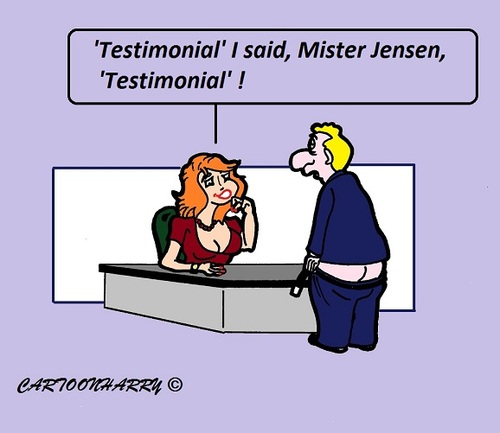 Cartoon: Testimonium (medium) by cartoonharry tagged testimonial,doctor,cartoons,cartoonists,cartoonharry,dutch,toonpool