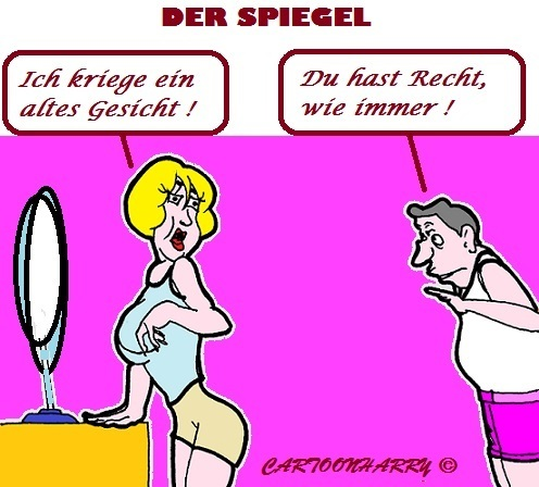Cartoon: Wie Immer (medium) by cartoonharry tagged mann,frau,immer