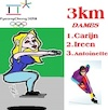 Cartoon: 3 KM Schaatsen (small) by cartoonharry tagged schaatsen,3km,goud,zilver,brons