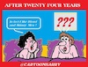 Cartoon: After 24 Years (small) by cartoonharry tagged marriage,cartoonharry