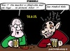 Cartoon: Alter? (small) by cartoonharry tagged bar,betrunken,besoffen,pinkeln