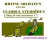 Cartoon: Anabolen Leger (small) by cartoonharry tagged britten,engeland,soldaten,anabolen
