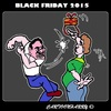 Cartoon: Black Friday 2015 (small) by cartoonharry tagged november27th2015,blackfriday2015,blackfriday,fight,present