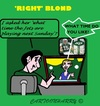 Cartoon: Blond (small) by cartoonharry tagged jets,blond,time