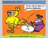 Cartoon: CARNIVAL 2011 (small) by cartoonharry tagged carnival,eggs,eier,muslims,deutsch,german,middleeast,chicken,cartoon,comic,comix,comics,artist,art,arts,drawing,dutch,holland,toonpool,toonsup,facebook,hyves,linkedin,buurtlink,deviantart