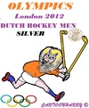 Cartoon: Dutch Hockey Men (small) by cartoonharry tagged dutch,hockey,men,silver,lion,cartoon,cartoonist,cartoonharry,toonpool