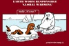 Cartoon: Earth Worming (small) by cartoonharry tagged earthworm,globalworming,globalwarming,polarbear,northpole,cartoons,cartoonists,cartoonharry,dutch,toonpool