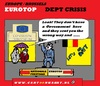 Cartoon: Eurotop Brussels (small) by cartoonharry tagged eurotop,germany,france,brussels,belgium,merkel,sarkozy,rain,police,direction,way,wrong,cartoon,cartoonist,cartoonharry,dutch,toonpool