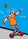 Cartoon: Expression (small) by cartoonharry tagged emotion,sports,expression