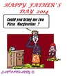 Cartoon: FathersDay 2014 (small) by cartoonharry tagged fathersday,2014
