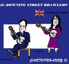 Cartoon: GrBritain (small) by cartoonharry tagged cameron,samantha,accordeon,clarinet,vips,famous,politicians,cartoons,cartoonists,cartoonharry,dutch,toonpool