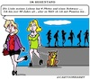 Cartoon: Im Ruhestand (small) by cartoonharry tagged ruhestand,hund
