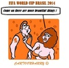 Cartoon: Important Things (small) by cartoonharry tagged fifa,netherlands,important,head,up,things