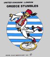 Cartoon: In 5 Years (small) by cartoonharry tagged greece,stumble,euro,cartoonharry