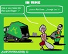 Cartoon: In Time (small) by cartoonharry tagged garbage,granny,time