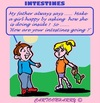 Cartoon: Intestines (small) by cartoonharry tagged inside,intestines,children,daddy