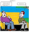 Cartoon: Intimacy (small) by cartoonharry tagged intimacy,men,marriage,parc,talkings