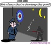 Cartoon: Je suis Ahmed (small) by cartoonharry tagged police,ahmed,france,charlie,hebdo,target