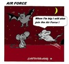 Cartoon: Join the Air Force (small) by cartoonharry tagged airforce,air,mouse,mice,bat,cartoon,animals,cartoonist,cartoonharry,dutch,toonpool