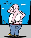 Cartoon: Juckreiz (small) by cartoonharry tagged juckreiz