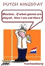 Cartoon: KINGSDAY (small) by cartoonharry tagged kingsday,cartoonharry