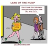 Cartoon: Land of the Hump (small) by cartoonharry tagged hope,hump,land,cartoonharry