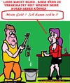 Cartoon: Lasst (small) by cartoonharry tagged liebe,blind,verheiratet,schau