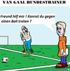 Cartoon: Louis van Gaal (small) by cartoonharry tagged fall,louis,van,gaal,louisvangaal,holland,bundestrainer,cartoon,cartoonist,cartoonharry,dutch,toonpool