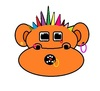 Cartoon: MonkeTonkey (small) by cartoonharry tagged monkeytonkey,punker