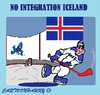 Cartoon: No Goal (small) by cartoonharry tagged europe,iceland,integration,no