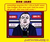 Cartoon: Ron Jans (small) by cartoonharry tagged voetbal,eredivisie,pec,zwolle,ron,jans,trainer