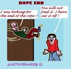 Cartoon: Rope End (small) by cartoonharry tagged humor,rope,end,fix,find
