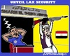 Cartoon: Sharm el-Sheikh Airport (small) by cartoonharry tagged egypt,airport,lax,security