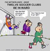 Cartoon: Soccer Clubs In Ward (small) by cartoonharry tagged ward soccer twelve clubs cartoonharry