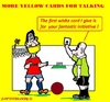 Cartoon: Soccer Yellow (small) by cartoonharry tagged soccer,yellow,more,football,referee,netherlands,cartoons,cartoonists,cartoonharry,dutch,toonpool