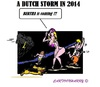 Cartoon: Storm Bertha (small) by cartoonharry tagged holland,enschede,bertha,storm