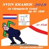 Cartoon: Sven Kramer (small) by cartoonharry tagged pyongchang,2018,svenkramer,3xgoud,olympisch
