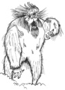 Cartoon: Yeti 2011 (small) by cartoonharry tagged backyard,yeti,comic,comics,cartooncomix,artist,cool,art,arts,drawing,cartoonist,cartoonharry,dutch,toonpool,toonsup,facebook,hyves,linkedin,buurtlink,deviantart,snowman,terrible