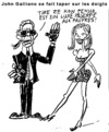 Cartoon: Cartoon Karl Lagerfeld (small) by Zombi tagged karl,lagerfeld,cartoon