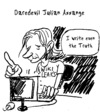 Cartoon: Julian Assange (small) by Zombi tagged julian,assange