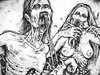 Cartoon: Zombie couple (small) by MrHorror tagged zombie couple two undead