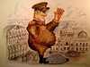 Cartoon: Dictator Tolerance Varition_2 (small) by joschoo tagged dictatorship,tolerance,fat,shadow,shade,people,democracy
