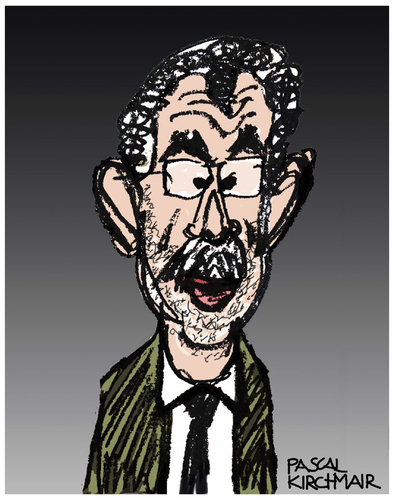 Cartoon: Alexander Van der Bellen (medium) by Pascal Kirchmair tagged alexander,van,der,bellen,karikatur,caricature,cartoon,portrait,alexander,van,der,bellen,karikatur,caricature,cartoon,portrait