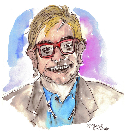 Cartoon: Elton John (medium) by Pascal Kirchmair tagged elton,john,cartoon,caricature,karikatur,portrait,zeichnung,dessin,dibujo,desenho,disegno,illustration,sänger,singer,chanteur,pop,music,musik,sacrifice,candle,in,the,wind,do,not,go,breaking,my,heart,rock,blues,boogie,komponist,pianist,composer,diana,lady,di,england,english,musique,star,elton,john,cartoon,caricature,karikatur,portrait,zeichnung,dessin,dibujo,desenho,disegno,illustration,sänger,singer,chanteur,pop,music,musik,sacrifice,candle,in,the,wind,do,not,go,breaking,my,heart,rock,blues,boogie,komponist,pianist,composer,diana,lady,di,england,english,musique,star
