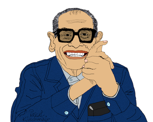 Cartoon: Naguib Mahfouz (medium) by Pascal Kirchmair tagged naguib,mahfouz,nagib,mahfuz,illustration,drawing,zeichnung,pascal,kirchmair,cartoon,caricature,karikatur,ilustracion,dibujo,desenho,ink,disegno,ilustracao,illustrazione,illustratie,dessin,de,presse,du,jour,art,of,the,day,tekening,teckning,cartum,vineta,comica,vignetta,caricatura,portrait,retrato,ritratto,portret,kunst,writer,author,autor,autore,auteur,schriftsteller,cairo,egypt,ägypten,egitto,kairo,nobel,prize,literature,literatur,premio,prix,literatura,nobelpreis,naguib,mahfouz,nagib,mahfuz,illustration,drawing,zeichnung,pascal,kirchmair,cartoon,caricature,karikatur,ilustracion,dibujo,desenho,ink,disegno,ilustracao,illustrazione,illustratie,dessin,de,presse,du,jour,art,of,the,day,tekening,teckning,cartum,vineta,comica,vignetta,caricatura,portrait,retrato,ritratto,portret,kunst,writer,author,autor,autore,auteur,schriftsteller,cairo,egypt,ägypten,egitto,kairo,nobel,prize,literature,literatur,premio,prix,literatura,nobelpreis